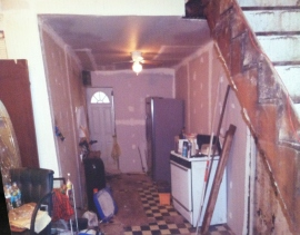 Lurry's kitchen before.