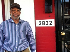 """""""I am overjoyed,"""" said Lurry. """"For the volunteers to come in and help makes me happy."""" Lurry was one of twenty-one homeowners on Olive Street to receive critical home repairs from Rebuilding Together at their block build in March."""