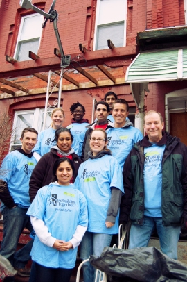 Rebuilding Together volunteers.